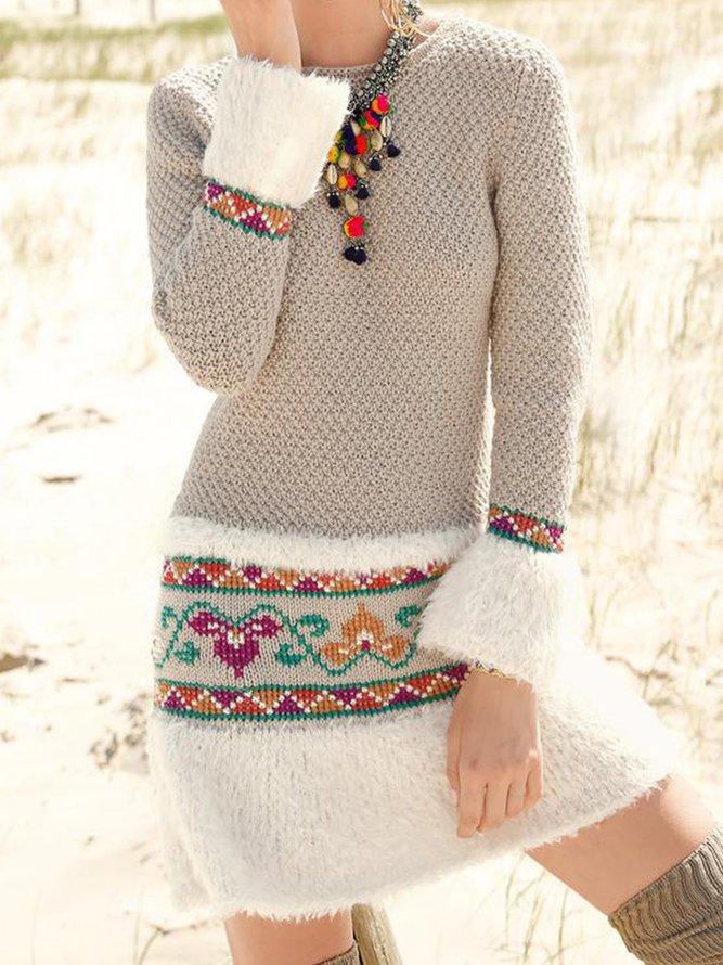 Große Größen Baumwolle Freizeitkleid | Kleider | Khaki ...